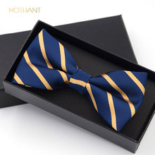 British Korean bow tie trendy wedding groomsmen men and women polyester business dress professional