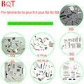 1 Conjunto Acessórios Dentro de Pequenas Peças de Metal Bracket Suporte Escudo Interno placa set kit de reparo para iphone 5 5s 5c 6 6 s além de