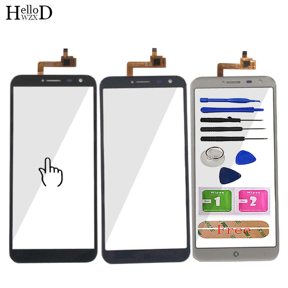 5.5'' Mobile Touch Screen For Dexp Ixion Z255 Touch Screen TouchScreen Digitizer Touch Digitizer Panel Lens Front Glass Tools
