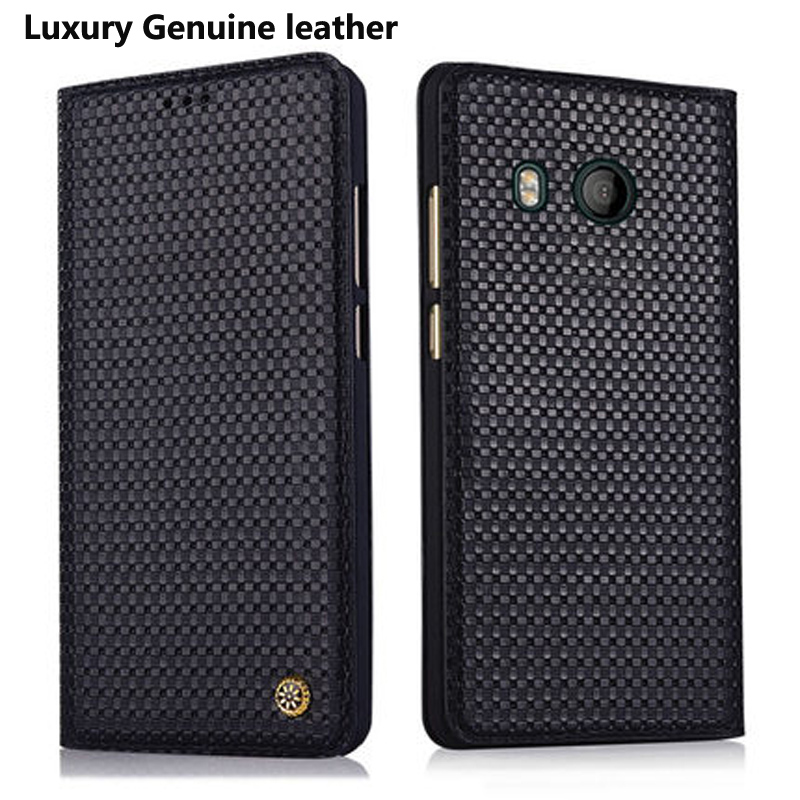 5.5 inch for HTC U11 case back cover Phone Bag Case Luxury Genuine leather Case Cover for HTC U 11 htcu11 Protect Cases cover