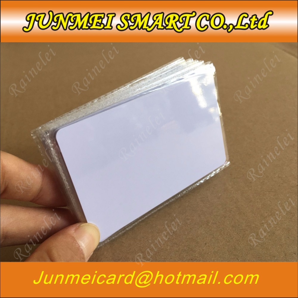 Lower Price with 20pcs Smart Cantactless Ic Card Pvc Rfid Proximity 13.56mhz Chip Pvc Card Print By Epson Or Canon Inkjet Printers For Fast Shipping Business Cards Back To Search Resultsoffice & School Supplies
