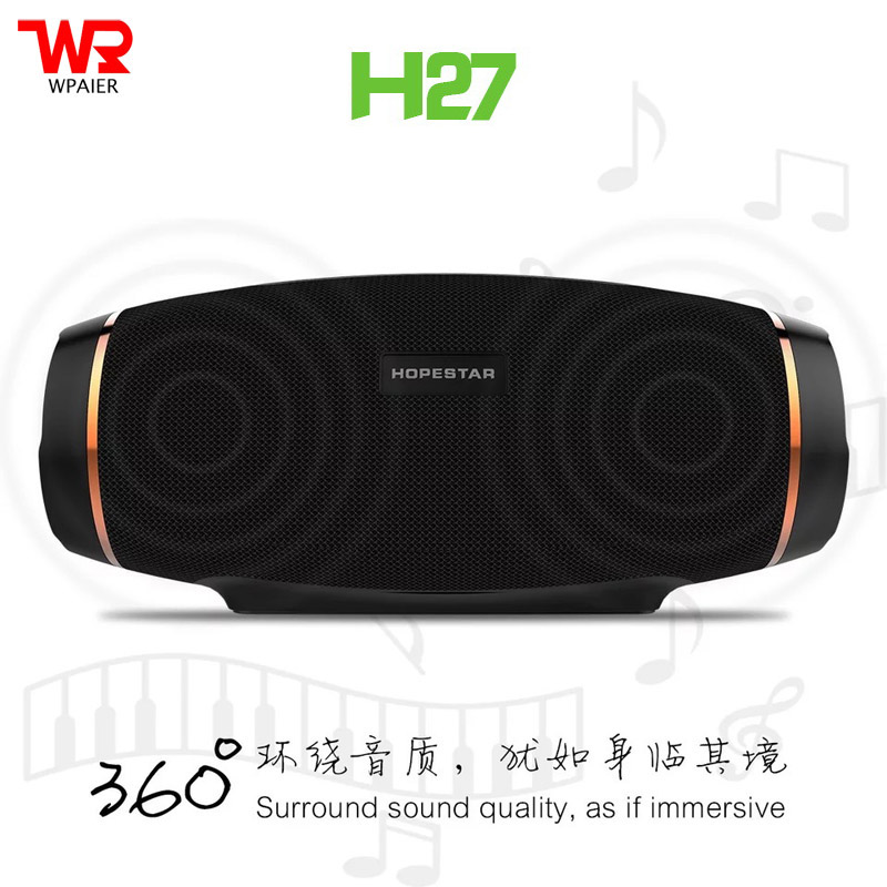 HOPESTAR H27 MINI Rugby Wireless Bluetooth speaker Outdoor portable waterproof sound box Shock and top quality Subwoofer audio