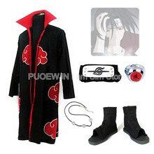 Hot Naruto uchiha itachi Cosplay Costume Halloween Costume Full Set hot naruto sai cosplay costume halloween costume full set