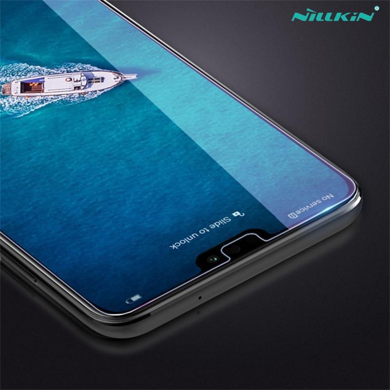 Cep telefonları ve Telekomünikasyon Ürünleri'ten Telefon Ekran Koruyucuları'de Huawei Onur için Honor 8X Temperli Cam Nillkin İnanılmaz H + PRO Anti Patlama Ekran Koruyucu Film için Cam Temperli huawei Honor8X title=