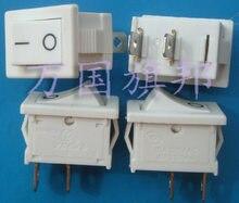 Entrega gratuita. Interruptor branco interruptor tipo de navio barco 6 um 250 v 2 CM de comprimento, 1.5 CENTÍMETROS de largura