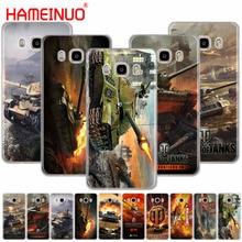 HAMEINUO world of tanks чехол для телефона для samsung Galaxy J1 J2 J3 J5 J7 MINI ACE prime