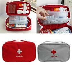 المحمولة الإسعافات الأولية بقاء الطب حقيبة التخزين صندوق حبوب منع الحمل للسفر الطبية المنزلية أدوات # Y207E # الساخن بيع