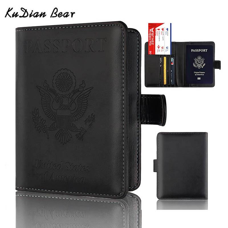 Aliexpress.com : Buy KUDIAN BEAR USA Passport Cover ... Designer Passport Holder