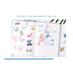 Image 2 - 20packs/lot Cartridges Stickers Go To The Beach To Travel Pocket Account Album DIY Decorative Sealing Stickers