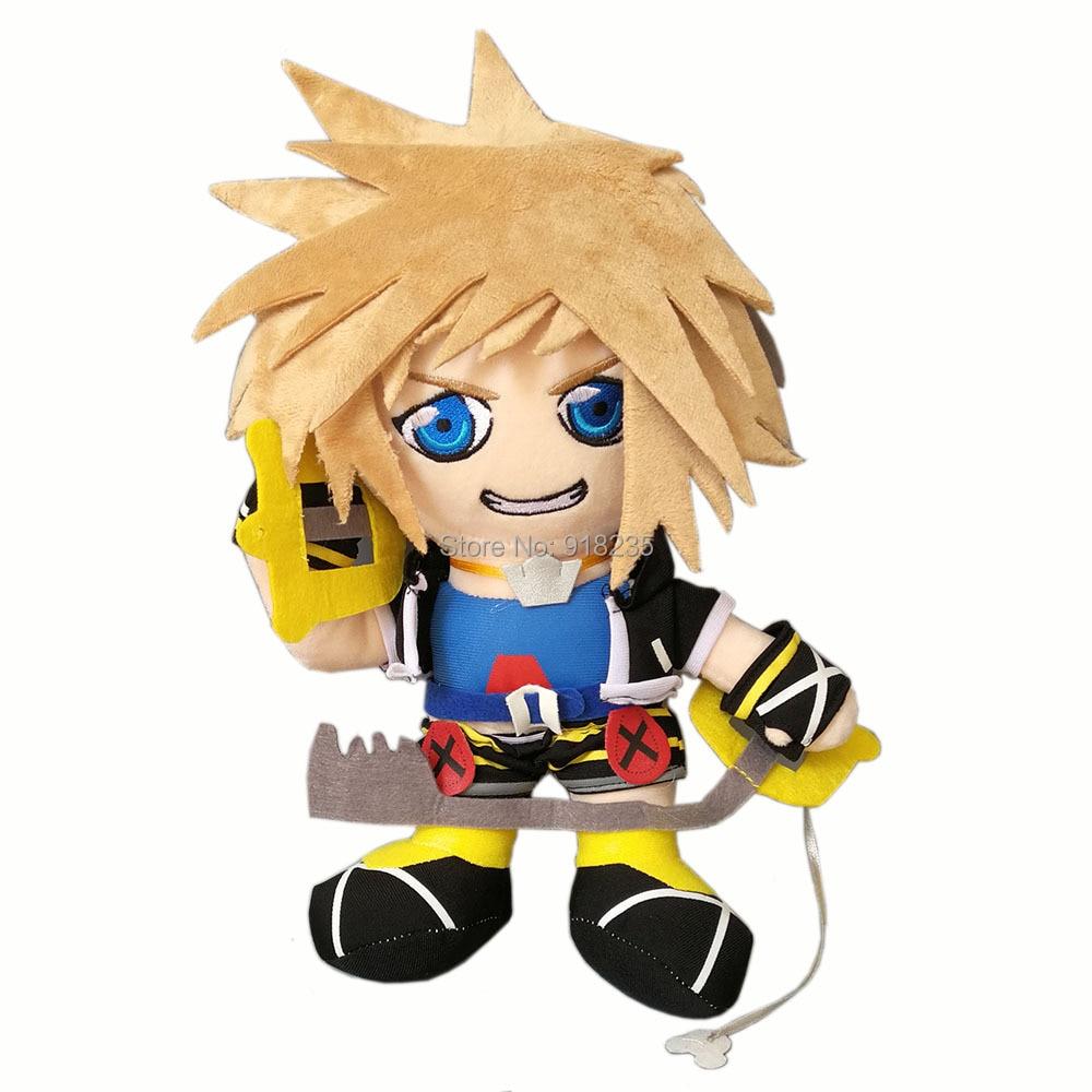 """Oyuncaklar ve Hobi Ürünleri'ten Filmler ve TV'de 10/Lot Kingdom Hearts 12 """"Sora Peluş Bebek Yumuşak Hayvan Bebekler Çocuklar Için Doldurulmuş Oyuncaklar'da  Grup 1"""