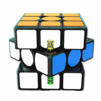 GAN 356 X Cubo mágico magnético Gan 356x Cubo de velocidad fissiona imanes cubos rompecabezas Neo Cubo Magico GANS 356 niños juguetes de Cubo