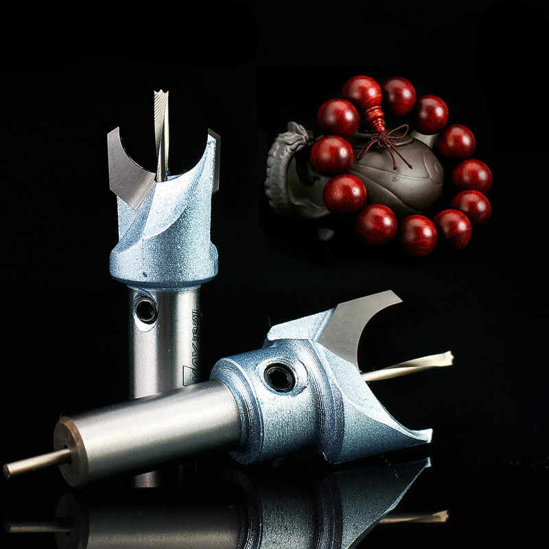 6mm-30mm Durable Buddha Beads Drill Solid Carbide Woodworking Router Bit Alloy