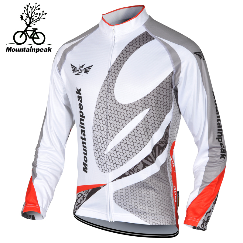 2016 New Arrival Winter&Autumn Cycling Jerseys Men Long Sleeves MTB Road Bicycle Quick Dry Breathable Windproof Riding Clothing