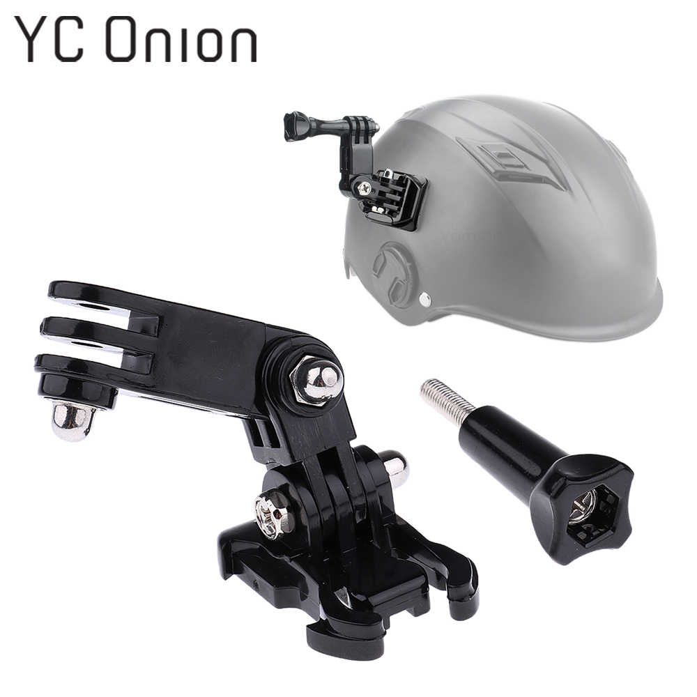 Action Camera Helmet Adjustment Base Mounts for GoPro Hero 7 6 5 4 3 for Xiaomi Yi 4K SJCAM SJ4000 SJ5000 SJ7 H9  Accessories