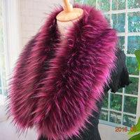 new-arrival-top-quality-faux-raccoon-fur-collar-fake-fur-scarf-colorful-women-men-jacket-fur-collar-hood-fur-decor-collar