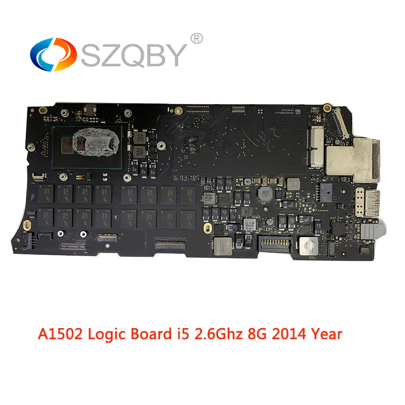 Laptop Mother board A1502 for MacBook Pro Retina 13 Logic board EMC 2875 2.6GHZ 8G i5 Mid 2014 YearLaptop Mother board A1502 for MacBook Pro Retina 13 Logic board EMC 2875 2.6GHZ 8G i5 Mid 2014 Year