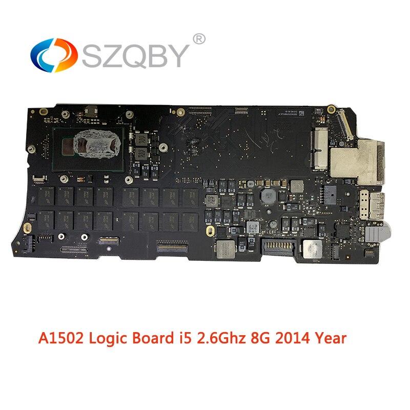Laptop placa Mãe A1502 para MacBook Pro Retina 13 ''8G i5 placa Lógica EMC 2875 2.6 GHZ Mid 2014 Ano