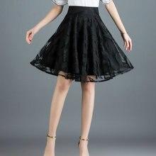 Новинка 2020 летняя Брендовая женская юбка для офиса черная