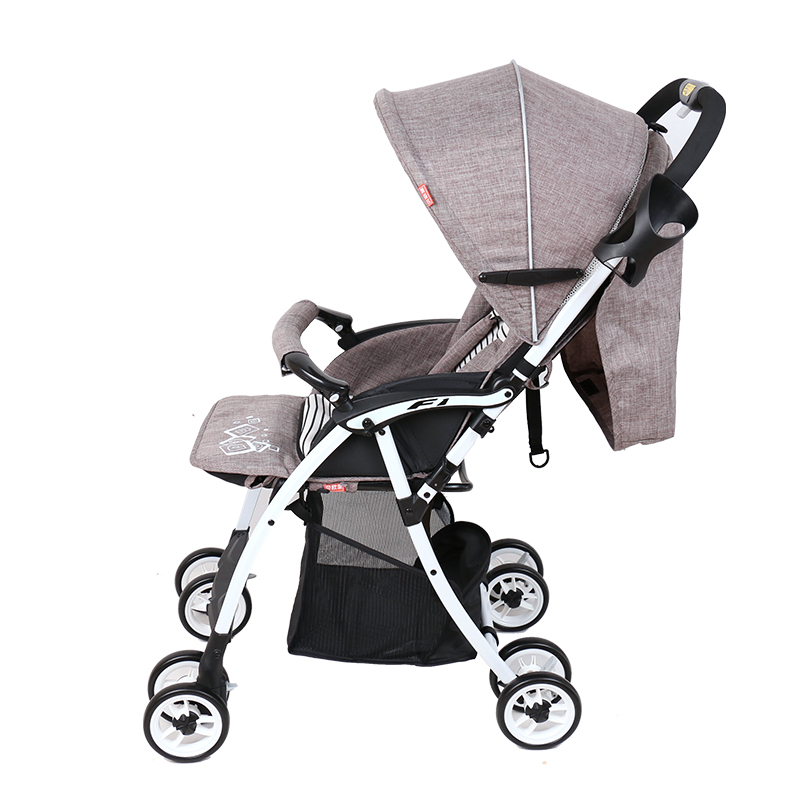 Baby Stroller Can Sit Flat Folding Portable Treasure And A Dual-purpose Winter Closed baby Cart