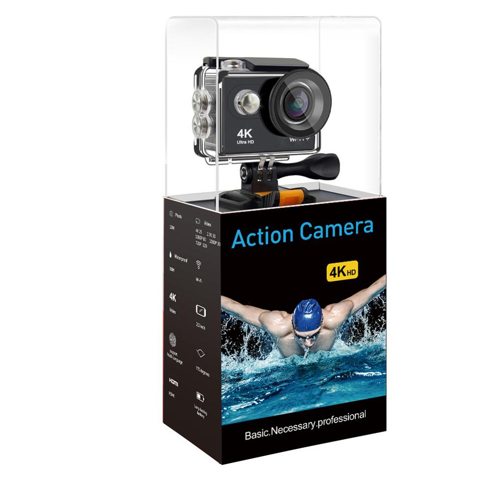 GEEKAM H9R Original Action Camera Ultra HD Camaras go Waterproof 170D 4K WiFi 1080P 60fps pro Outdoor Sport Camera 2017 arrival original eken action camera h9 h9r 4k sport camera with remote hd wifi 1080p 30fps go waterproof pro actoin cam