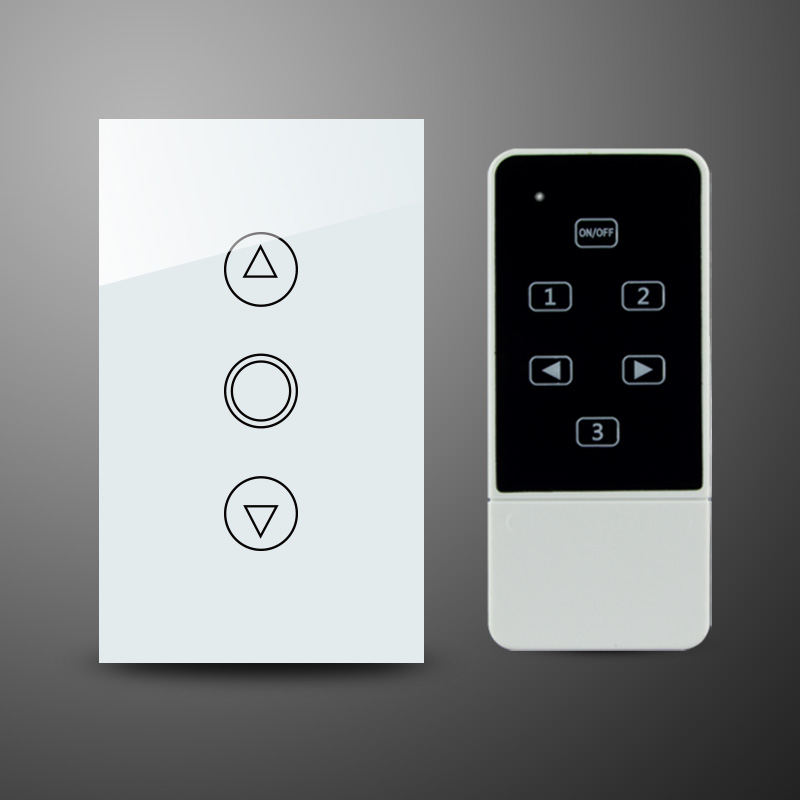 US AU Standard Crystal Tempered Glass Panel Touch Dimmer Light Switch with Remote RF 433Mhz Remote Control Switches us au standard touch switch crystal glass panel wall light touch dimmer switch gold black white