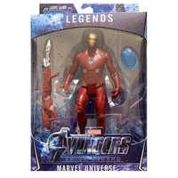 Superhero Avengers Iron Man Hulk Captain America spiderman Kapitän Marvele Action-figuren geschenk sammlung von kinder spielzeug