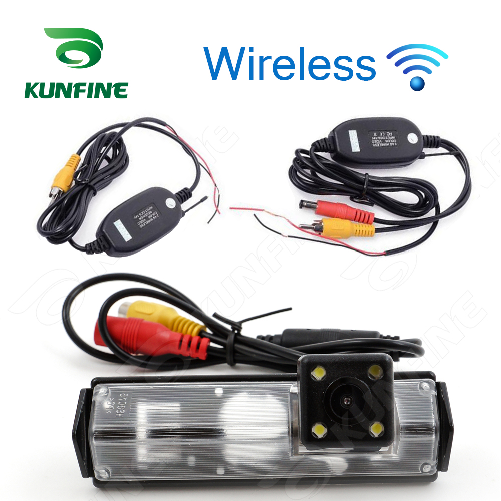 Car Wireless Rear View Camera For Mitsubishi Grandis Sport 2009 Parking Assistance Camera Night Vision LED Light Waterproof