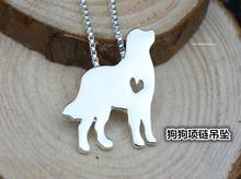 Бернская горная собачка Ожерелье Подвеска для собаки ювелирных