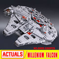 ЛЕПИН 05033 5265 шт. Star Wars Конечная коллекционное Тысячелетний Сокол Модель Строительные Наборы Блоков Кирпича Детские Игрушки Подарок 10179