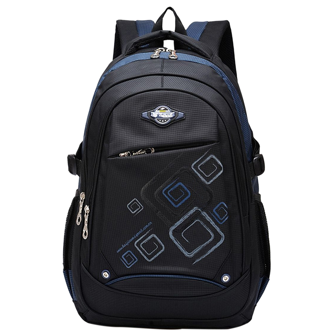 Backpack Shoulder Satchel Waterproof Boy Girl Child School Bag dark blue