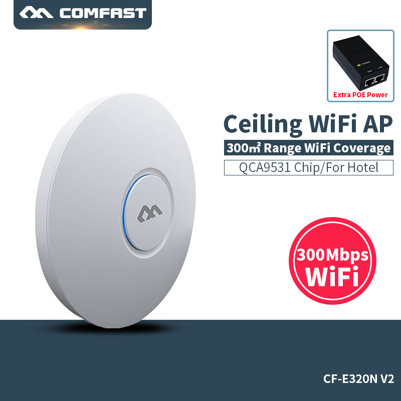 COMFAST AP Router Access-Point-Support Signal-Amplifier/Extender 300mbps-Wifi Wi-Fi Wireless Ceiling