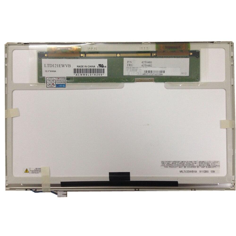 """LTD121EWVB LCD Screen 12.1/"""" WXGA 20 PIN fit LTD121EXVV LTN121W1-L03 CLAA121WA01A"""