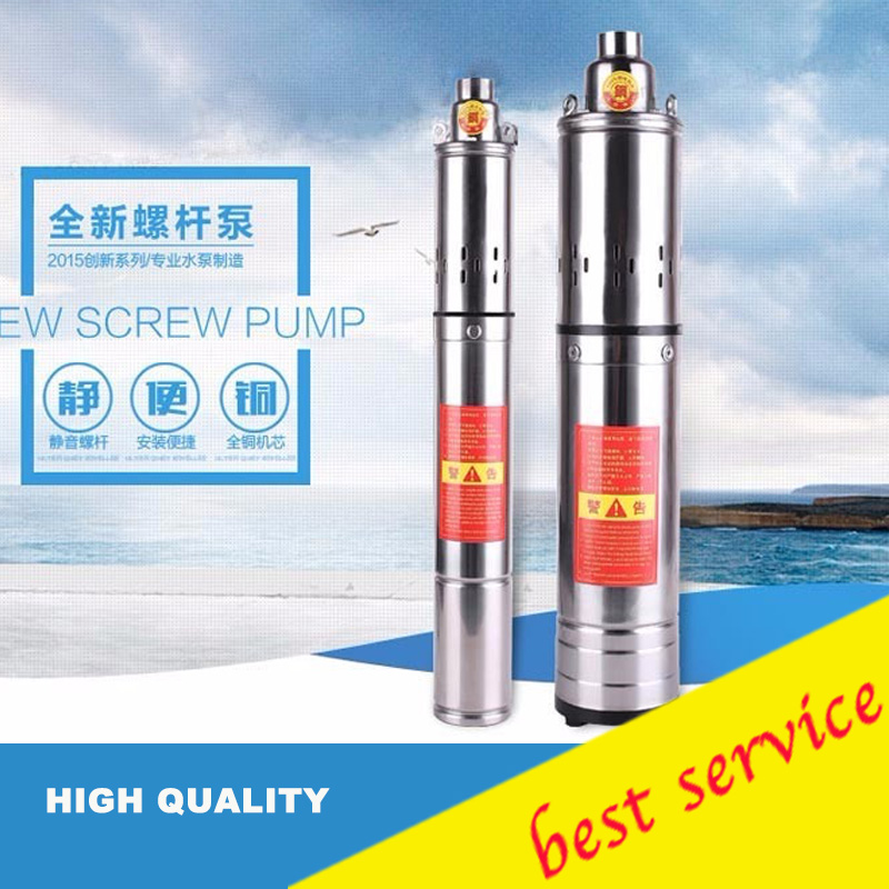 AC Power Electric Submersible Pump 280w/220V Deep Well Pump Stainless Steel Borehole Water Pump Solar Model:QGD-1.2-50-0.28 autumn girl dress print long sleeve new brand princess dress clothes rose flower kids pattern costumes vestido clothing for kids page 1