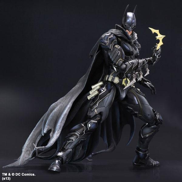 Batman Action Figure Black Blue Limited Ver Model Toys 10″ 25cm