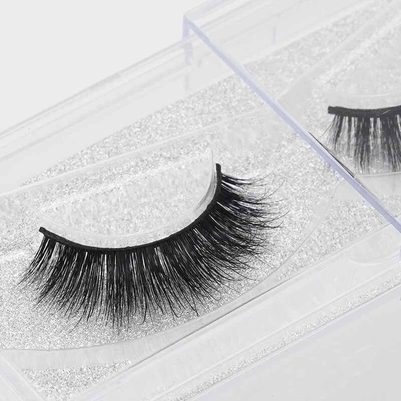 Mink Lashes New natural false eyelashes makeup faux lashes long black fake eye lashes eyelash extension non magnet eyel
