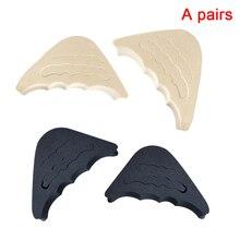 1 Pair Washable Pain Relief Cushion Rubber Forefoot Insert Reusable Ergonomic Shoes Filler Soft Protector Toe Plug Front цена в Москве и Питере