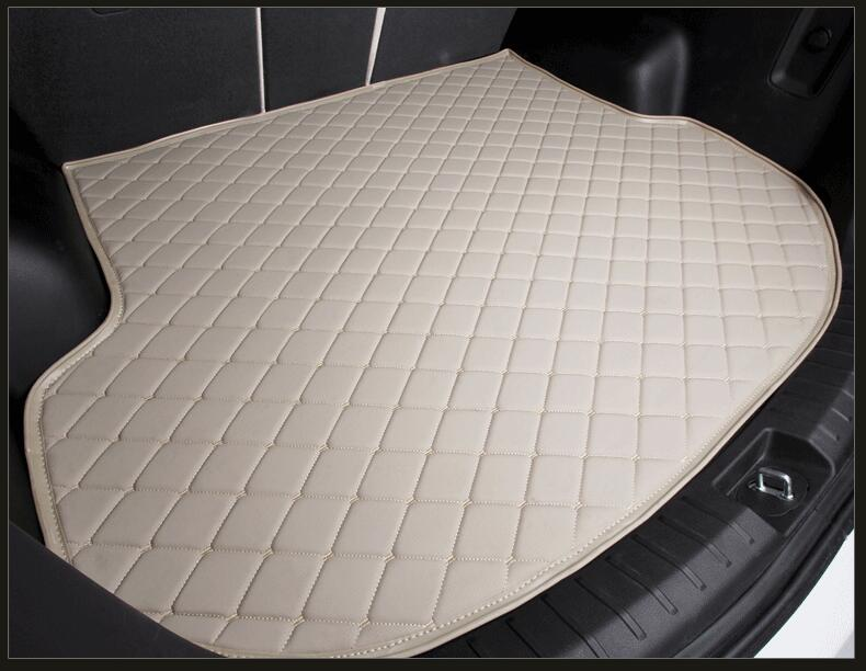1PCS 3D Rear Trunk Cargo pad mat Mats For Nissan Altima Rouge X-trail Murano Sentra Sylphy Qashqai Tiida Patrol Y61 Y62(6colors) car rear trunk security shield shade cargo cover for nissan qashqai 2008 2009 2010 2011 2012 2013 black beige