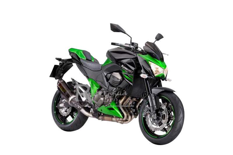 Z 800 دراجة نارية العادم كامل نظام لكاواساكي Z800 العادم Muffer الأوسط الأنابيب الفولاذ المقاوم للصدأ صالح ل 51 مللي متر ID العادم رابط