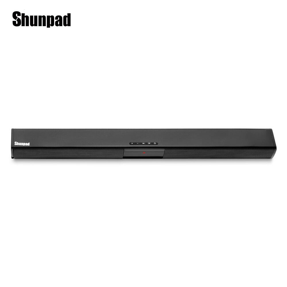 Shunpad BS 28 Wireless Bluetooth Speaker Television Audio Fiber Coaxial Soundbar Sound Portable Home Speaker