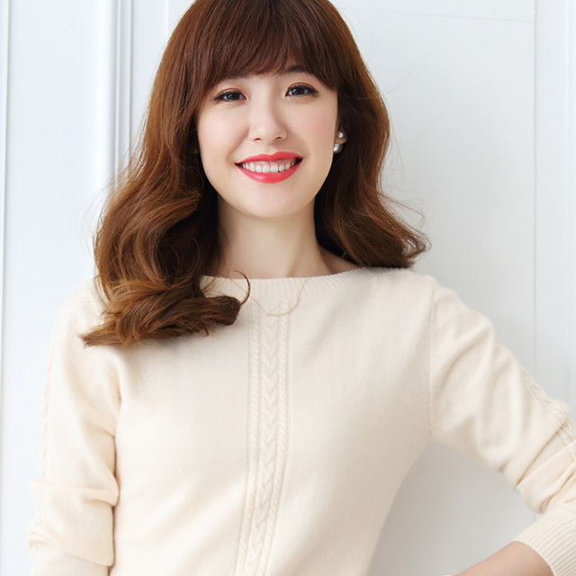 Aliexpress.com : Buy Hot Sale Women Winter Pure Cashmere Sweater ...