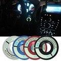 Nuevo Coche Cubierta del Interruptor de Encendido Luminoso Decorativo Anillo Círculo Clave Para Escarabajo VW Polo Golf6 Jetta5 Para Audi A1 A3 A4 TTS