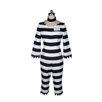 Anime Detentionhouse Nanbaka Prison School Cosplay Costume Jyugo Jumpsuits Prisoner NO 15 Costume