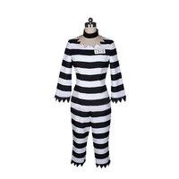 Anime Detentionhouse Nanbaka Prison School Cosplay Costume Jyugo Jumpsuits Prisoner NO 15 Costume