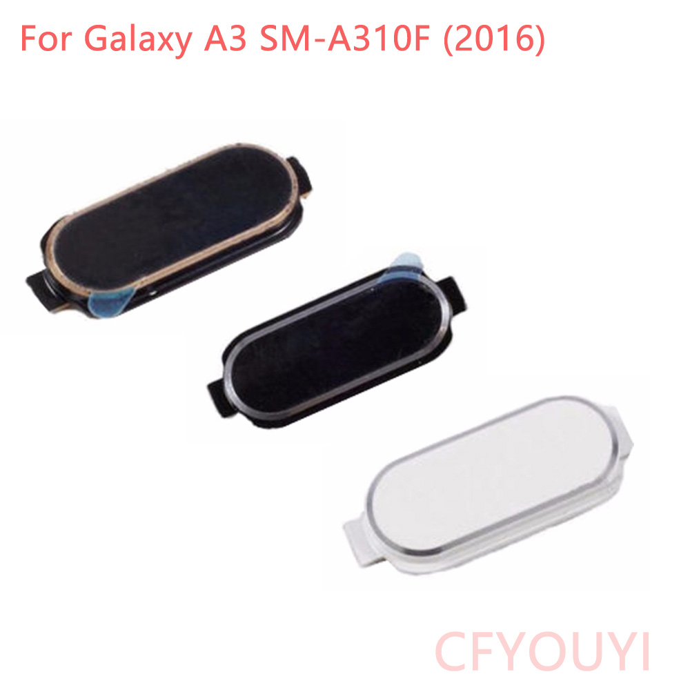 CFYOUYI A310 A310F Home Button Return Key For Samsung Galaxy A3 SM-A310F (2016)