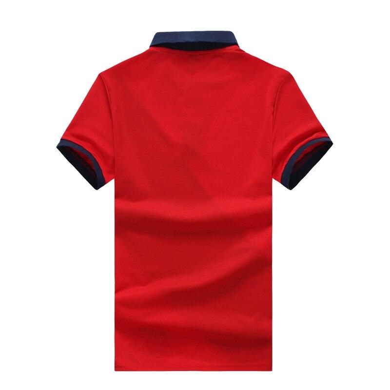 880cecbb56 Covrlge 2018 Novos Homens Marca de Moda Camisa Polo Sólida Curto Luva Slim  Fit Polo Dos Homens Camisa Dos Homens Do Polo Camisas Casual Polo MTP062 em  Polo ...