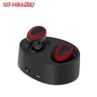 K2 Mini Double Earpieces Bluetooth Headset Handsfree Earbuds Wireless Bluetooth 4 1 Earphone With Microphone LJ