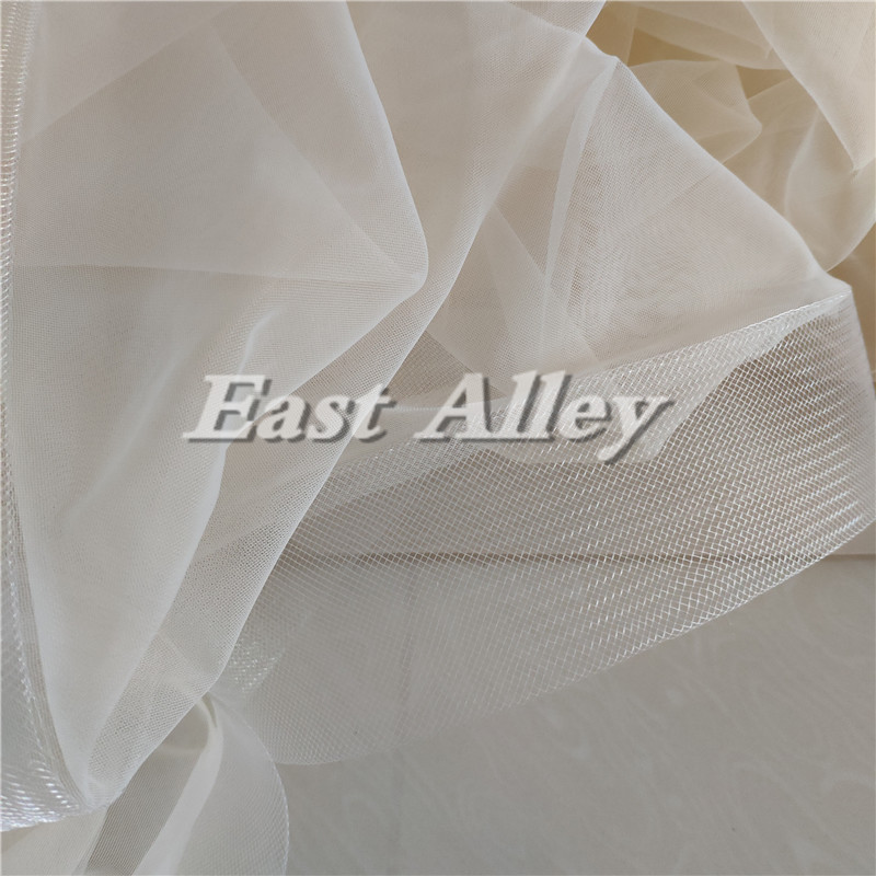 Image 4 - New Bridal Veil, Wedding Veil with comb, Cathedral Ivory Veil Blusher Two Tier Veil with 2 inch Horsehair Trim, 108 inches-in Bridal Veils from Weddings & Events