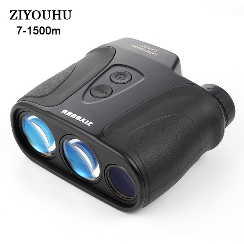 8X25 High Precision Super Distance Ranging Laser Range Finder 1500m Angle Height Speed Level Distance Rangefinder For Engineer in Rangefinders from Sports Entertainment