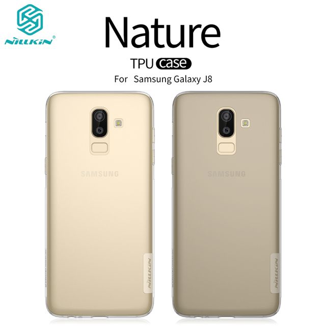 online store 68ffb bedf9 US $4.99 5% OFF|Genuine NILLKIN Nature Clear TPU phone Case For Samsung  Galaxy J8 Transparent Soft Back Cover For Samsung Galaxy J8 Phone Bags-in  ...
