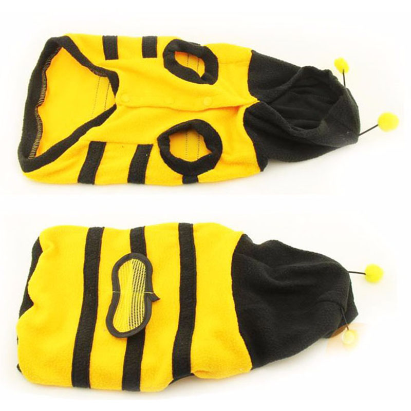 1Pcs-Pet-Clothes-Cute-Bees-Dog-Cat-Clothes-Soft-Fleece-Teddy-Poodle-Dog-Clothing-Pet-Product-Supplies-Accessories-7z-ca217-2